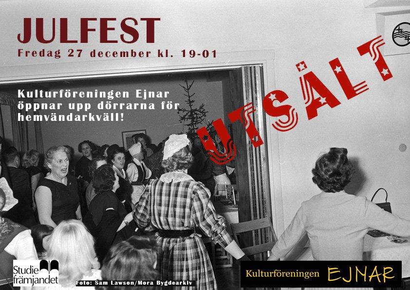 UTSÅLT Julfest 2019